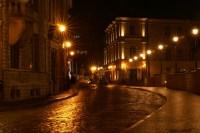 Images Rays of light Baltics HDRI Roads Night Street 2764x1850