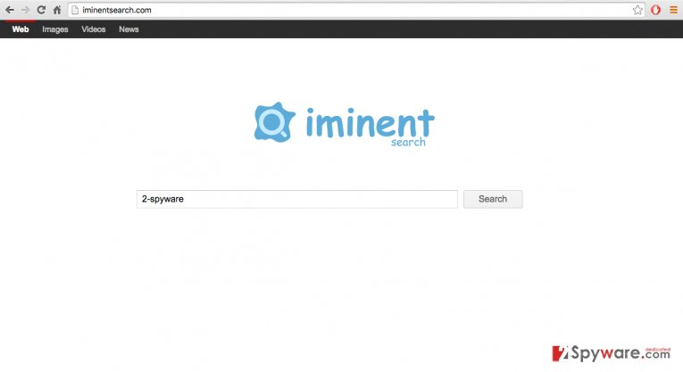 Remove iminentsearch.com virus (Simple Removal Guide)