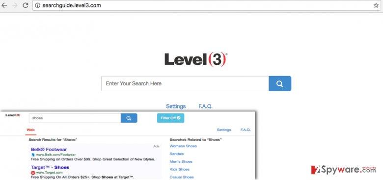 Remove Searchguide Level 3 virus (Removal Guide)