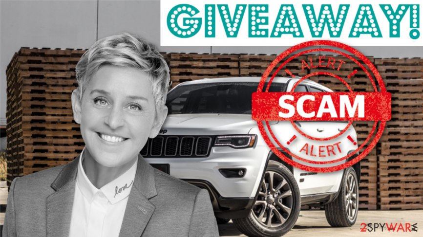 Fake Ellen DeGeneres social media giveaways offer prizes for likes