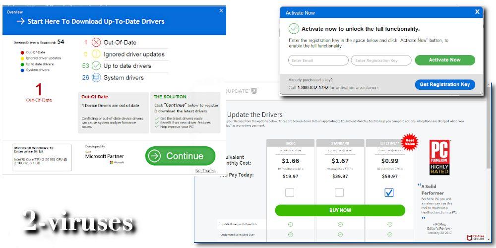 DriverUpdate PUP – How to remove (Oct. 2019) – Dedicated 2-viruses.com