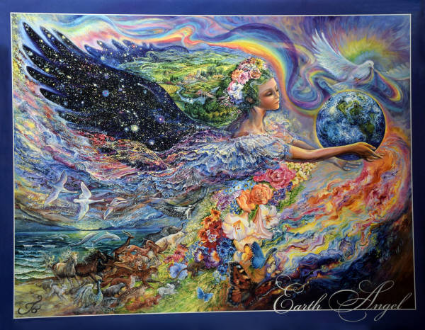 2000 GIFTS Earth Angel Leanin Tree Poster Print By