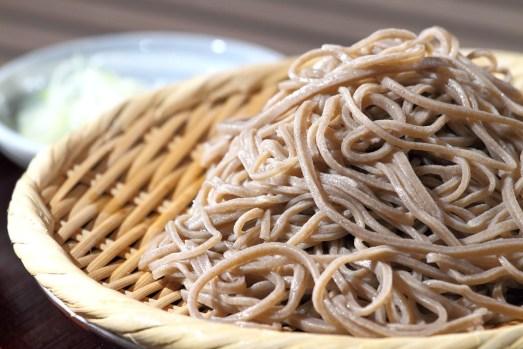 Nudeln aus Buchweizen sind in Japan sehr beliebt