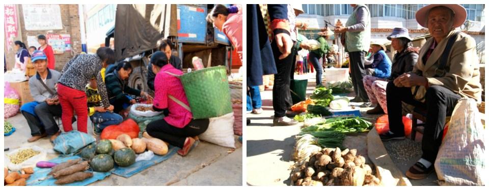 Marktplatz in China