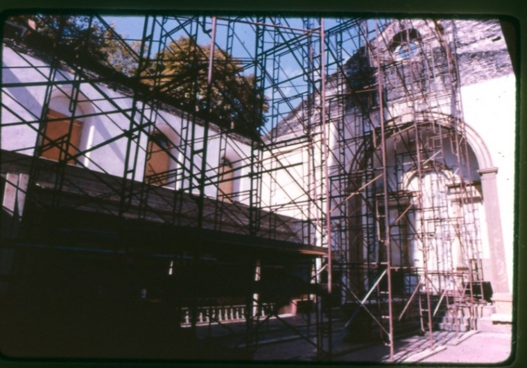 The Sanctuary in November 1979. Courtesy St. Mark's Historic Landmark Fund