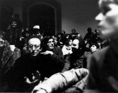 Steve Levine, Lewis Warsh, Greg Masters, Yoshiko Chuma - Photo credit: Vivian Selbo, 1988