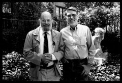 Allen Ginsberg & Robert Creeley - Photo credit: Laure Leber