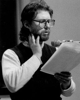Bob Holman - Photo credit: Nancy Miller Elliot, 1984