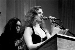 Lee Ann Brown & Bernadette Mayer - Photo credit: Jacob Burckhardt, 1993
