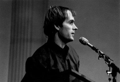 Simon Pettet - Photo credit: Jacob Burckhardt, 1990