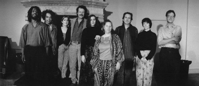 Kurt Lamkin, Lois Elaine Griffith, Elinor Nauen, Jack Collom, Diane di Prima, Babara Barg, Barrett Watten - Photo credit: Laure Leber