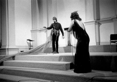 Edwin Torres and Gina Bonati - Photo credit: Melissa Zexter, 1998