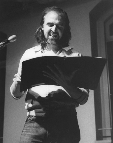 Rene Ricard - Photo credit: Vivian Selbo, 1986