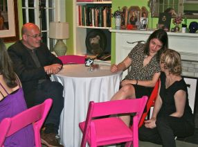 Guest host Luc Sante & Mimi Lipson w/ Megan Cump