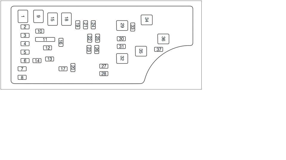 2011 chrysler 200 fuse box location