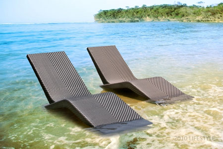 hanging chair stand outdoor office exercises for legs venice sun lounger | 2010 lifestyle