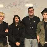 Team members: Ryan Ashton - Head of PSHE / Fitness Club (aspiring to be healthy / definitely wouldn't say fit). Ben Jones - Student deputy of the fitness club. Peter Musgrave - Founding member of the club. Skye Banks - Founding member of the club.