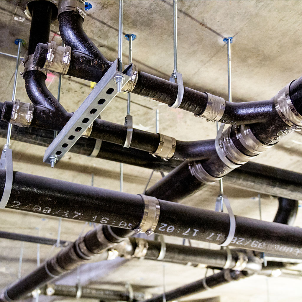 piping for plumbing