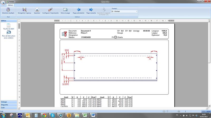logiciel de FAO, logiciel d'agencement