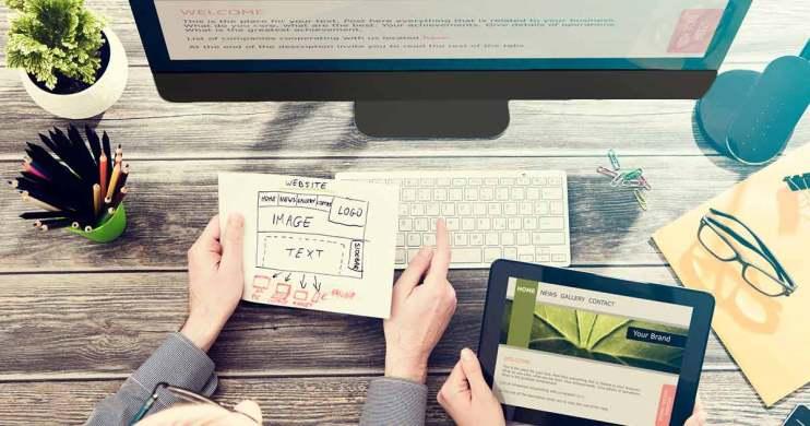 Building an interior design website