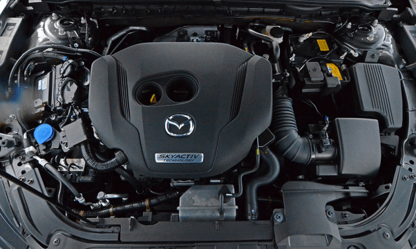 2021 Mazda 6 Signature Engine