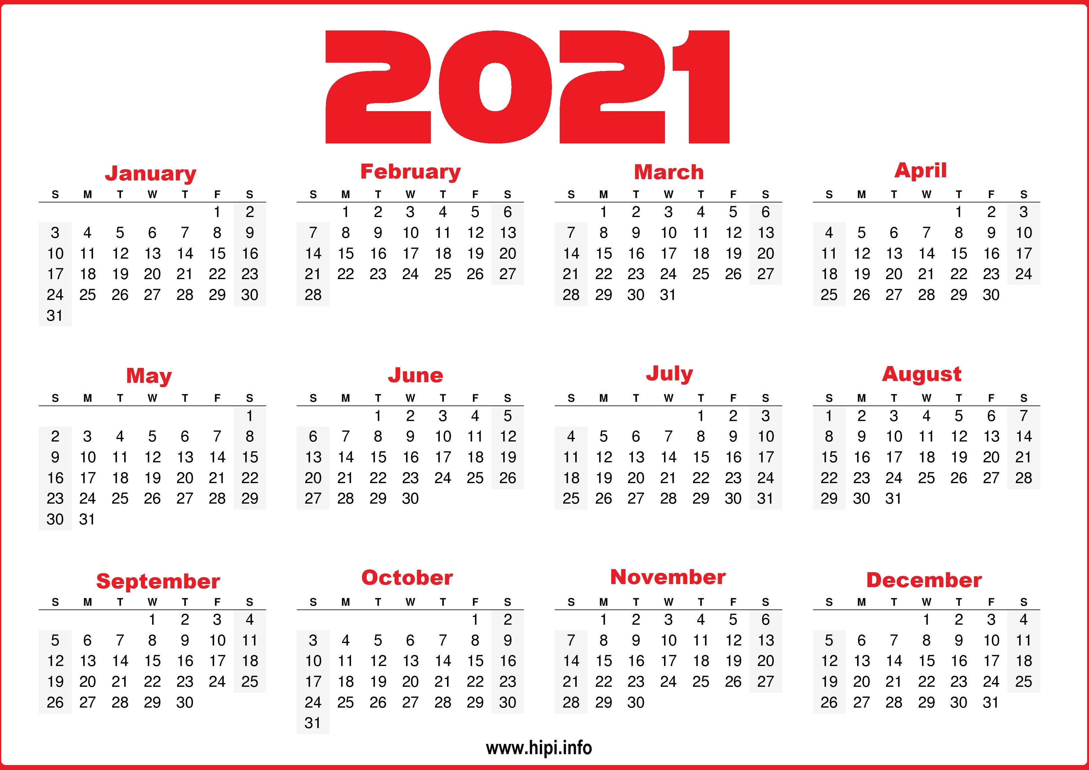 Get organized and stay on schedule with the best calendar apps for android and ios. Free Printable 12 Month 2021 Calendar With Lines ...