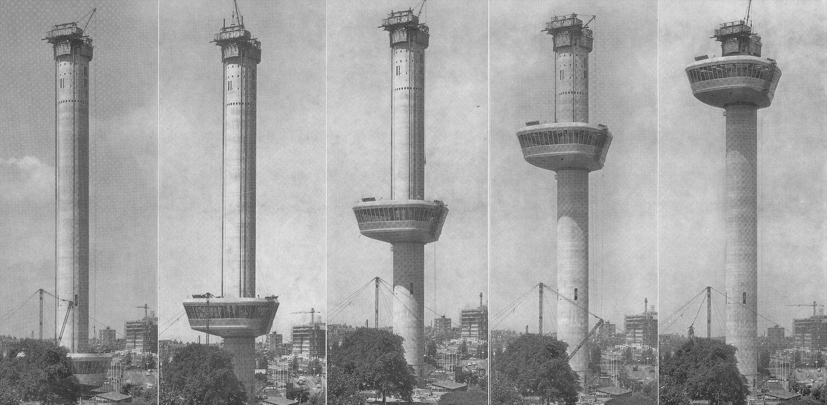 1960_Euromast_bouw_Floriade
