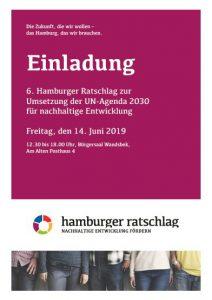 Cover Einlandung Ratschlag 6