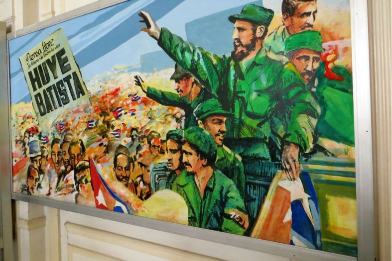 The strange and fun Museum of the Revolution in Havana, Cuba