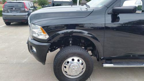 New 2012 New Red Dodge Big Horn Dually Mega 4wd Diesel Remote Start