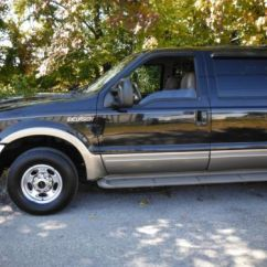 Suv With 3 Rows And Captains Chairs Cooper Co Beach Find Used 2001 Ford Excursion Limited 4x4 3rowsofseats 6.8liter 10cyl W/airconditioning In ...