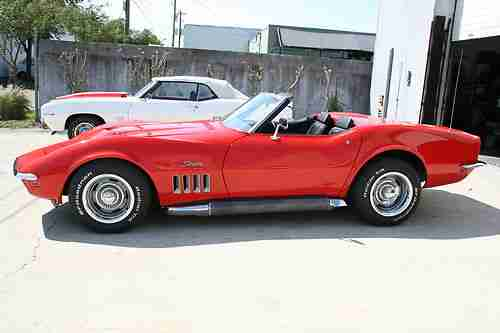 Find New 1969 Corvette Convertible 427 390hp Numbers