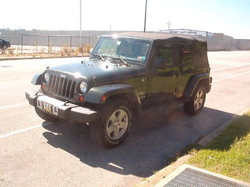 Find used 2011 JEEP WRANGLER SAHARA UNLIMITED 4 DOOR SOFT