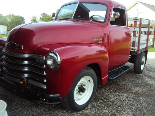 1950 Chevy Truck Long Bed