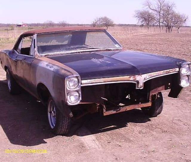 1967 Pontiac Gto Project Parts Car Real 242 Gto No Reserve Bid To Own