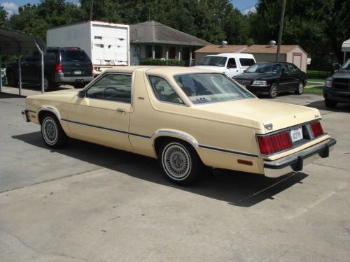 Buy Used 1983 Ford Fairmont Futura Coupe 3 3l Quot Classic Car