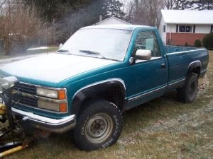 Find used 1993 Chevrolet K3500 **65l Turbo Diesel** with 7'6