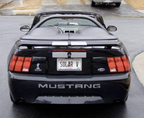 Sell Used 2002 Mustang Convt Shelby Gt 500 Black Amp Nice