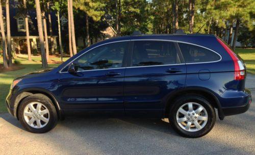 Buy Used 2007 Honda Cr V Ex L Navy Blue In Spring Texas United States For Us 14 500 00
