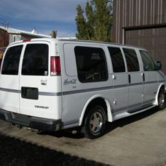 Lift Chairs For The Elderly Massage Zero Gravity Chair Buy Used 1997 Chevy Markiii Conversion Van Handicap Equipped With Wheel In La Verkin ...