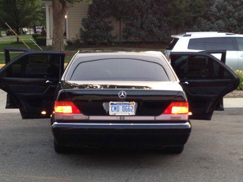 Find used 1996 Mercedes S320 Class in Birmingham Michigan