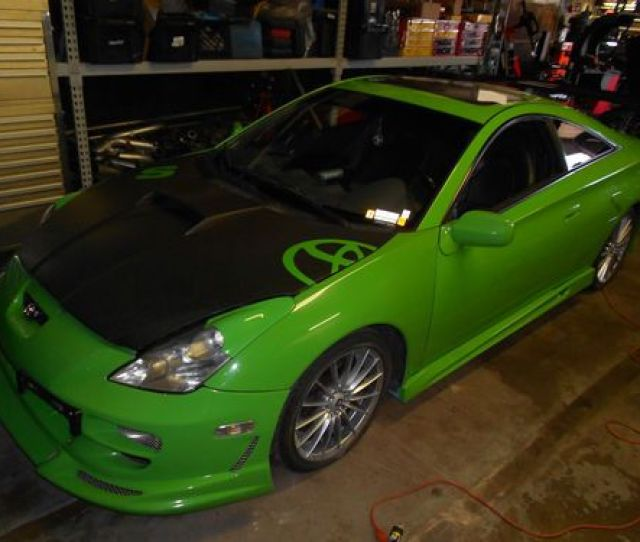 2001 Toyota Celica Gts Turbo Custom Track Car