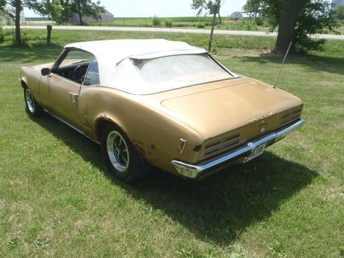 Sell Used Pontiac Firebird Convertible 350 1 Owner