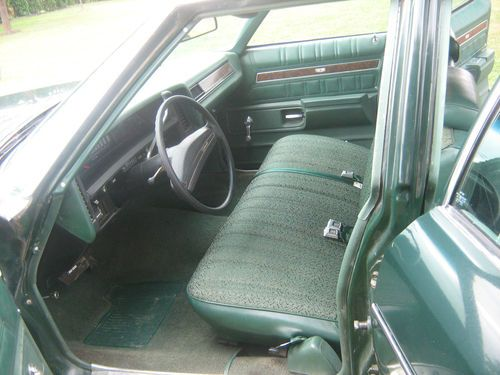 Sell used 1973 chevy impala 4 door 350 ci green exterior and exterior 46k miles in Penn Yan New