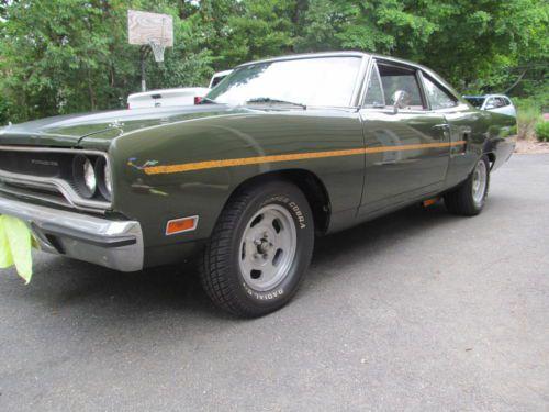Dark Green 1970 Chevelle