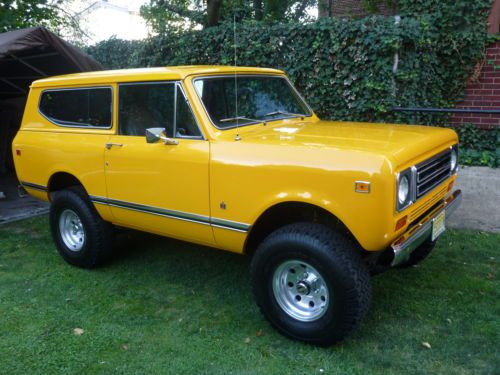 Convertible 1977 Bronco 4x4 Sale