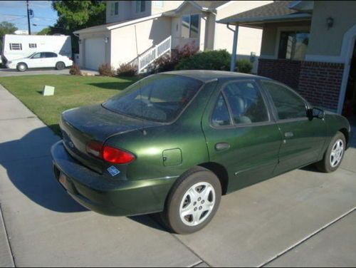 Buy Used 2001 Chevy Cavalier CNG Bi Fuel Low Miles