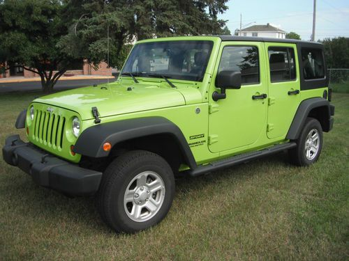 Buy used 2013 GECKO Jeep Wrangler Unlimited Sport Utility