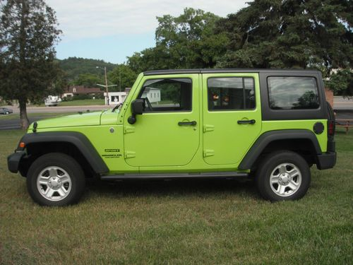 Gecko Green 4 Door Jeep Wrangler For Salehtml Autos Post