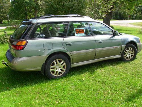 2003 Subaru Outback Owners Manual